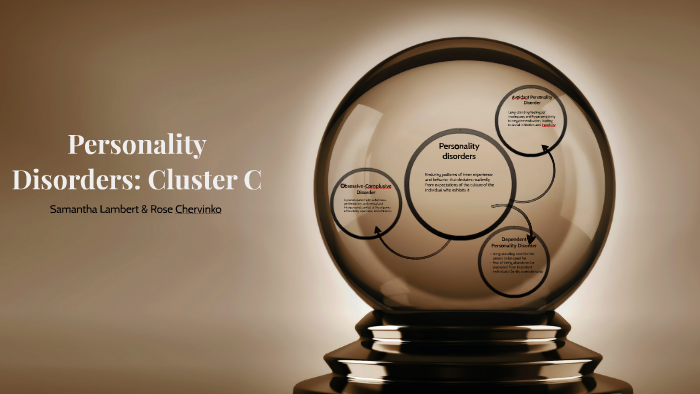 Personality Disorders: Cluster C by Rose Chervinko on Prezi