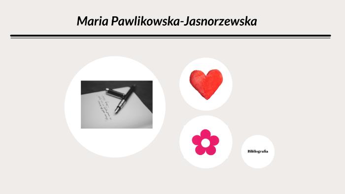 Maria Pawlikowska Jasnorzewska By Aleksandra Brzostowicz