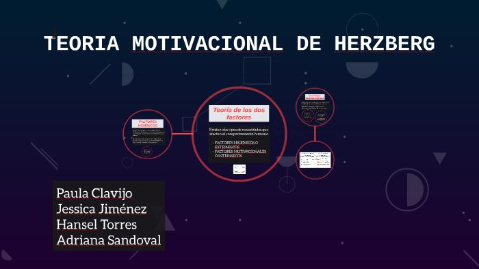 Teoria Motivacional De Herzberg By Jessica Jimenez On Prezi