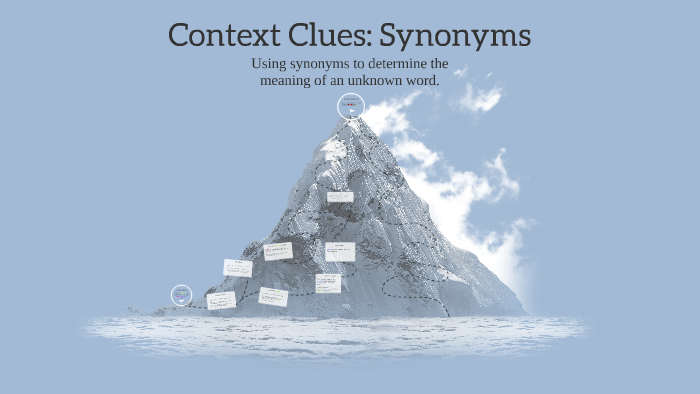 Context Clues: Synonyms by Calvin Ly on Prezi