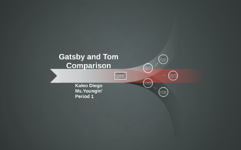compare tom and gatsby