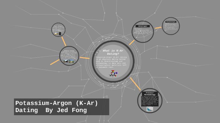 kalium-Argon (k-AR) dating