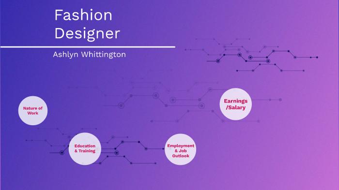 Fashion Designer By Ashlyn Whittington On Prezi Next