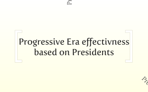 progressive era dbq answers