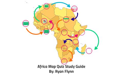 Africa Map Quiz Study Guide by Ryan Flynn on Prezi