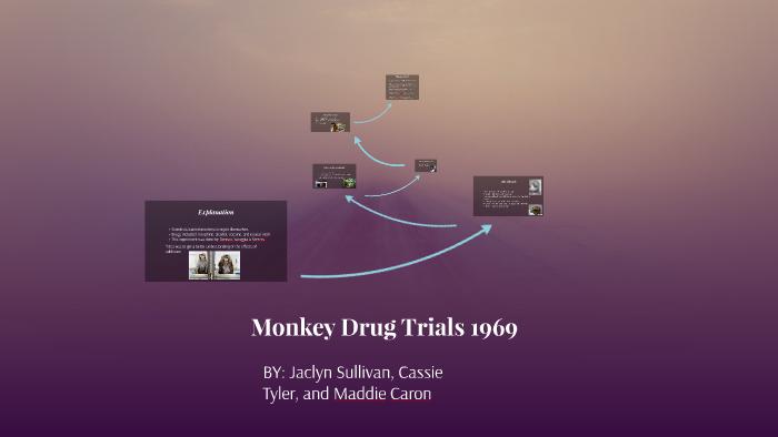 1969 monkey drug trials