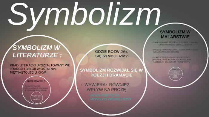 Symbolizm By Kinga Babińska On Prezi