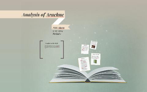 arachne myth analysis