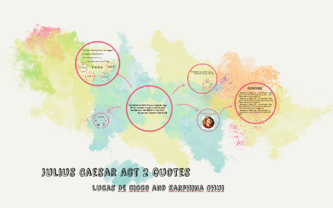 Julius Caesar Act 2 Quotes By Sarphina Chui On Prezi