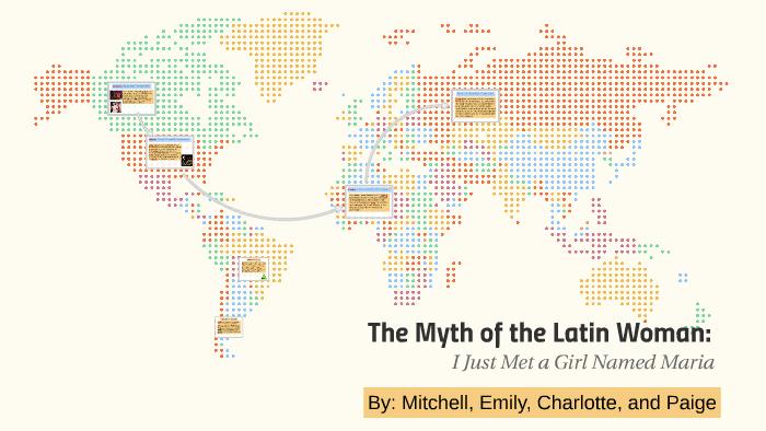 the myth of the latin woman rhetorical analysis