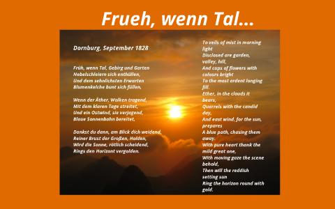 Frueh Wenn Tal By Lisa Kell