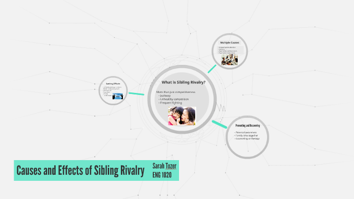 cause and effect of sibling rivalry