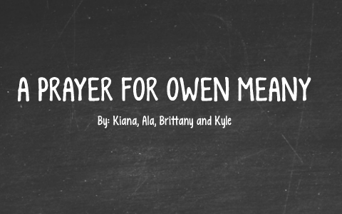a prayer for owen meany analysis