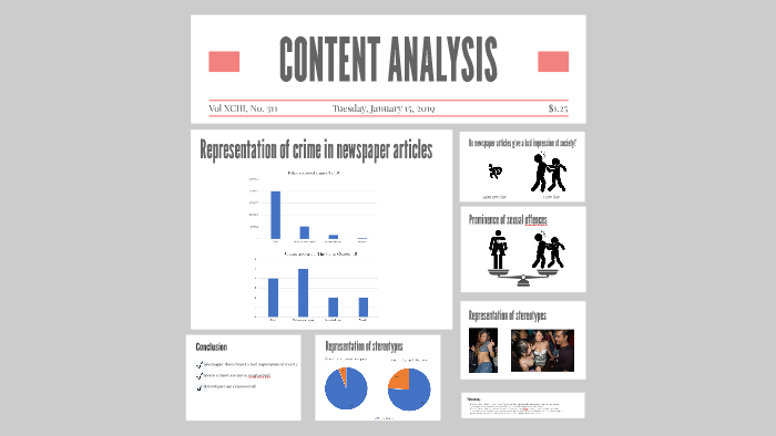 CONTENT ANALYSIS by Santana Beideck on Prezi