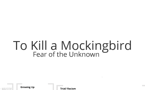 growing up in to kill a mockingbird