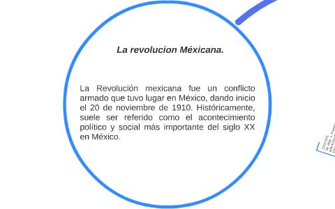 Revolucion Mexicana Línea De Tiempo By Loredana Paolucci On Prezi