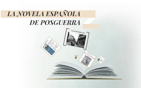La Novela Española De Posguerra By María Caro Sánchez Merino