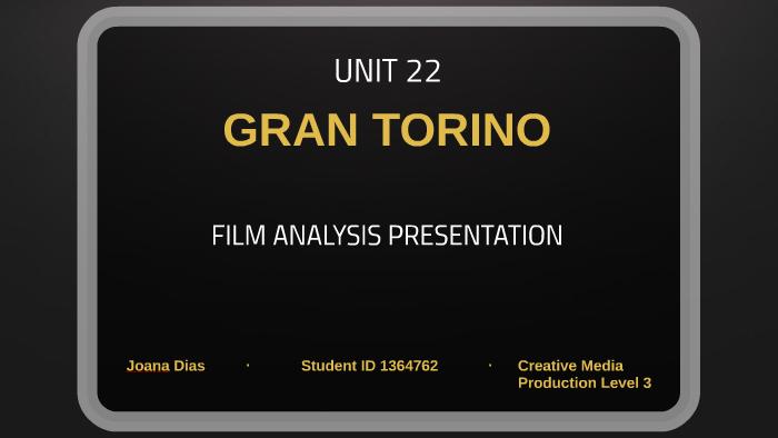gran torino summary analysis