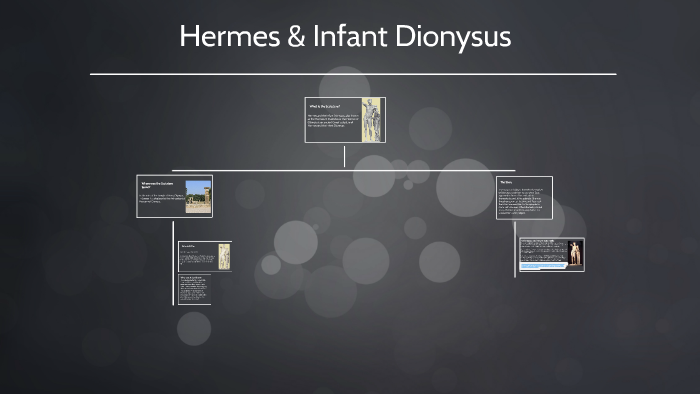 hermes carrying the infant dionysus