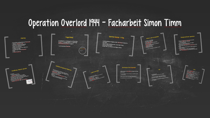 Operation Overlord 1944 Facharbeit Simon Timm By Simon Timm On Prezi