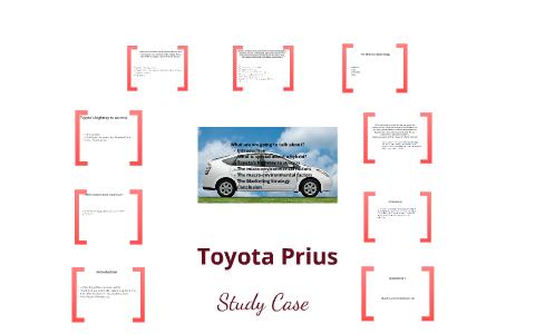 target market for toyota prius