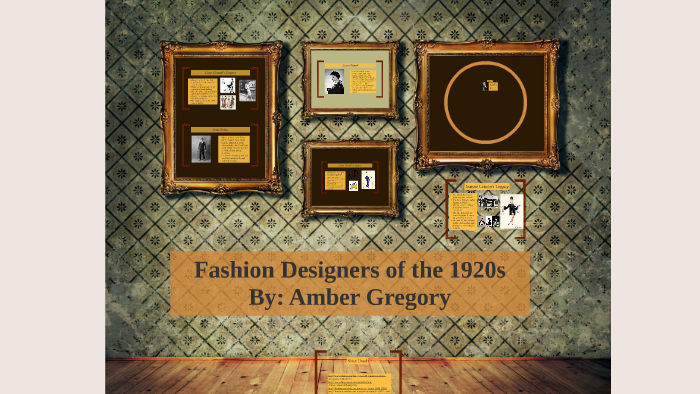Famous Fashion Designers Of The 1920s By Amber Gregory