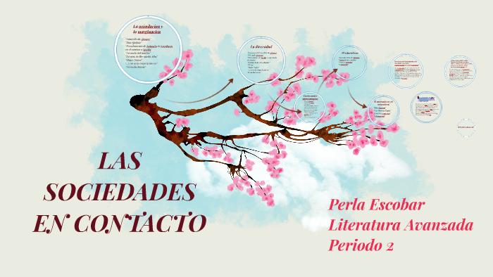 Las Sociedades En Contacto Perla Escobar By Constanza Martinez