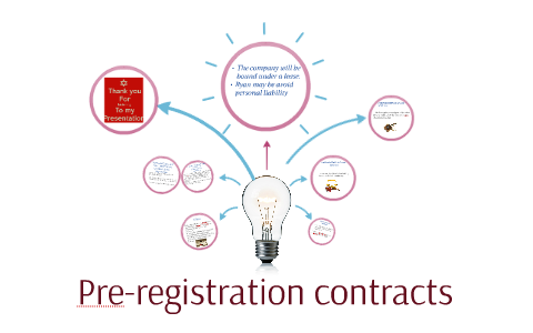 promoters and pre incorporation contracts