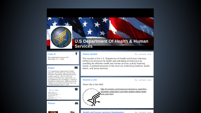 U S Department Of Health & Human Services by malik robinson