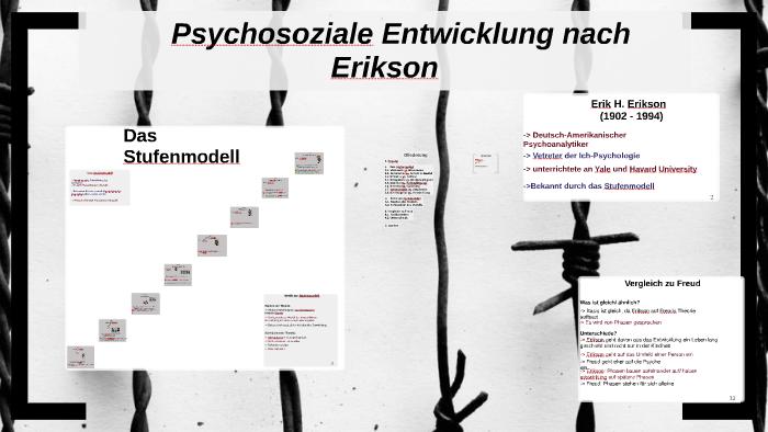 erikson psychosoziale entwicklung