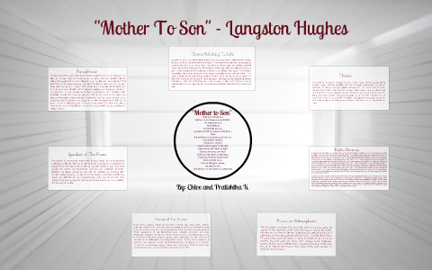 mother to son langston