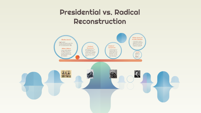 Presidentential Vs Radical Reconstruction By Ziona Brown On Prezi