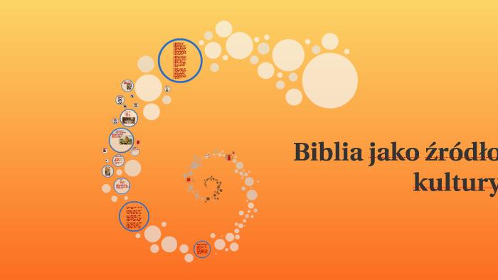 Biblia Jako źródło Kultury By Marta Sęk On Prezi