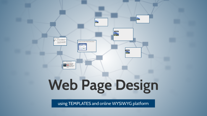 Best Of Web Page Design Using Templates And Online Wysiwyg Platforms On Ozawa