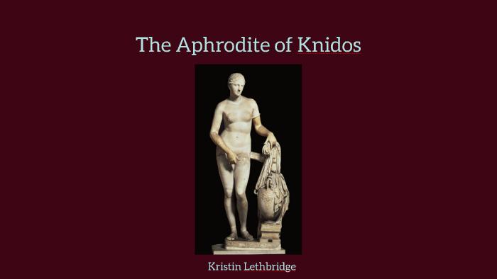 the aphrodite of knidos