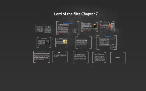 lord of the flies summary of chapter 7
