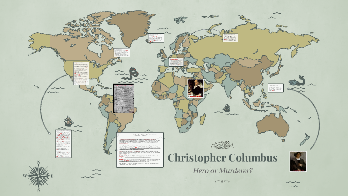 christopher columbus hero or murderer