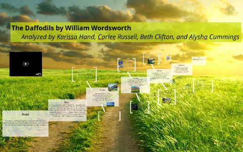 daffodils william wordsworth analysis