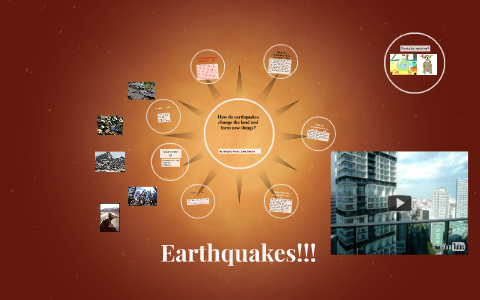 How Do Earthquakes Change The Land And Form New Things By Sarah Miller
