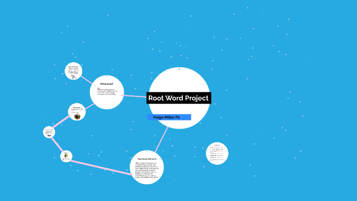 Root Word Project by Paige Miller on Prezi