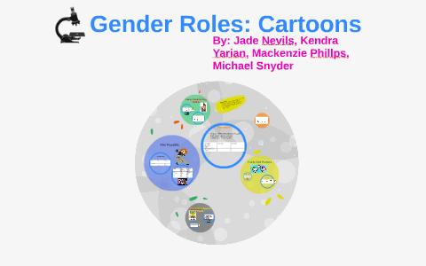 gender roles in cartoons