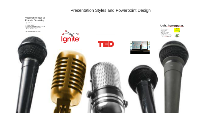 Presentation Styles And Powerpoint Design By Nick Kittle