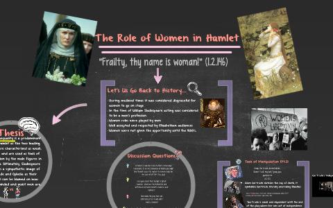 treatment of women in hamlet