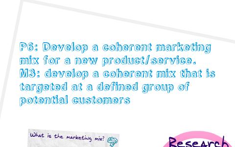 coherent marketing mix