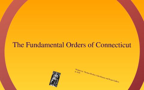 what is fundamental orders