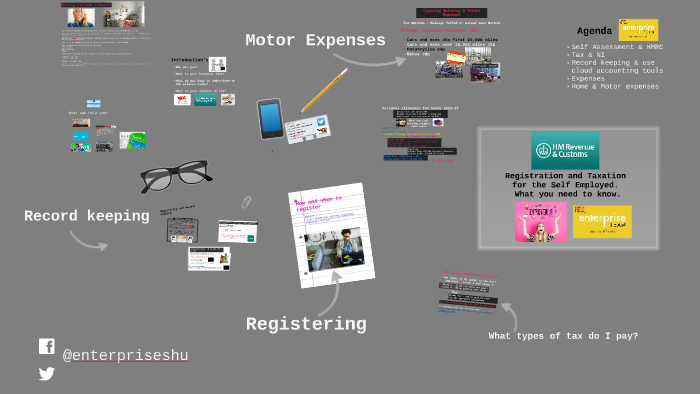 Registration and Taxation for the Self Employed - What you n by Rob King on Prezi
