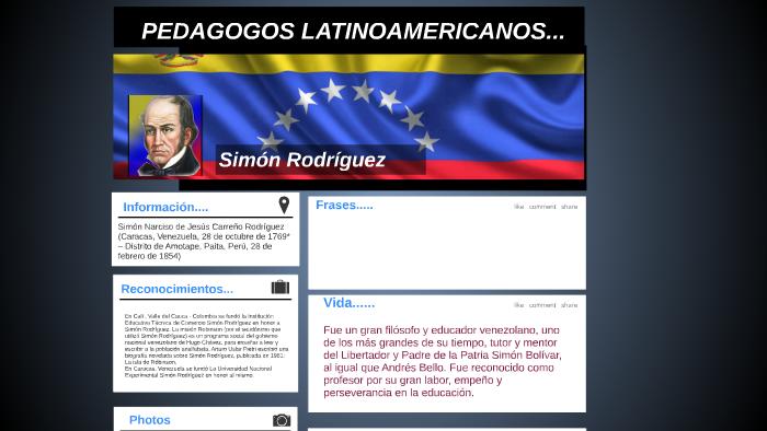 Pedagogos Latinoamericanos By Jessica Romero Reyes On Prezi