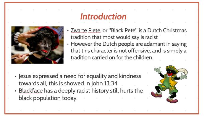 Black Pete Christmas History.Blackface By Megan Parsons On Prezi