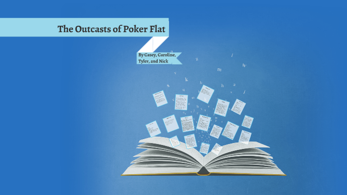 the outcasts of poker flat writer