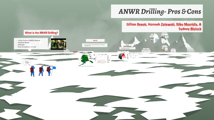 oil drilling in arctic national wildlife refuge pros and cons